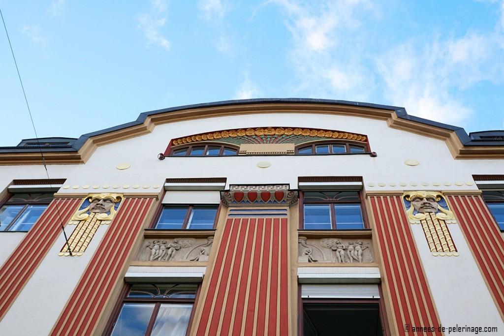 Art Nouveau house Römerstrasse 11 in Munich