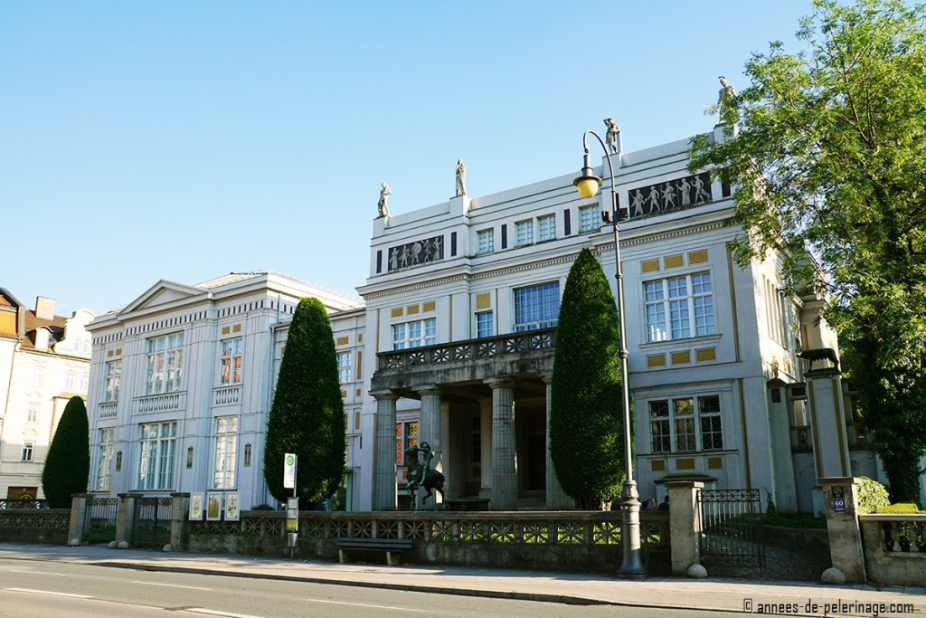 Art Nouveau museum Villa Stuck in Munich