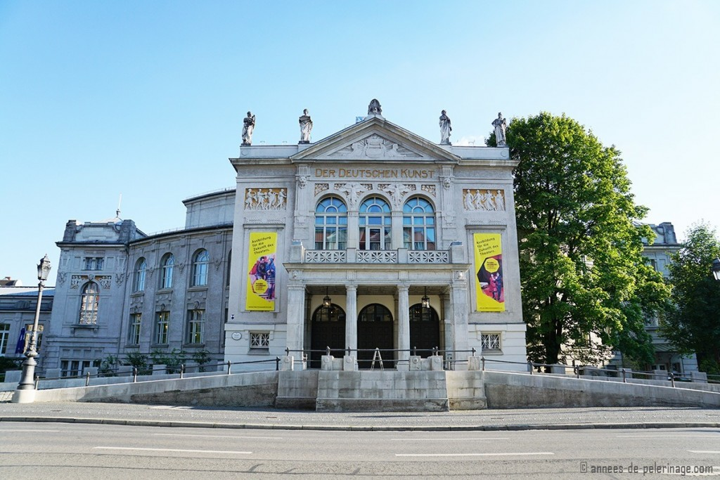 The Art Nouveau Prinzregententheater in Munich