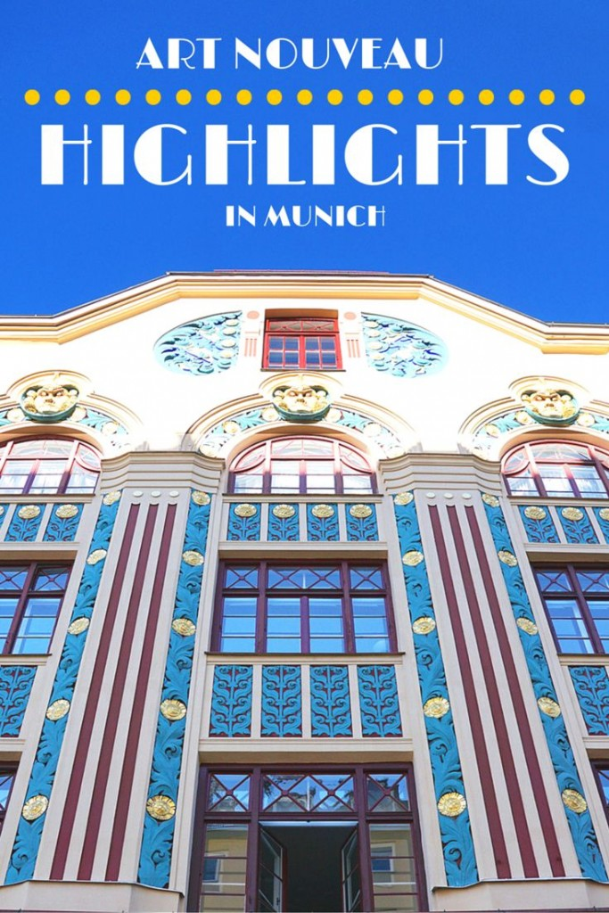 Art Nouveau (Jugendstil) walking tour through Munich, Germany