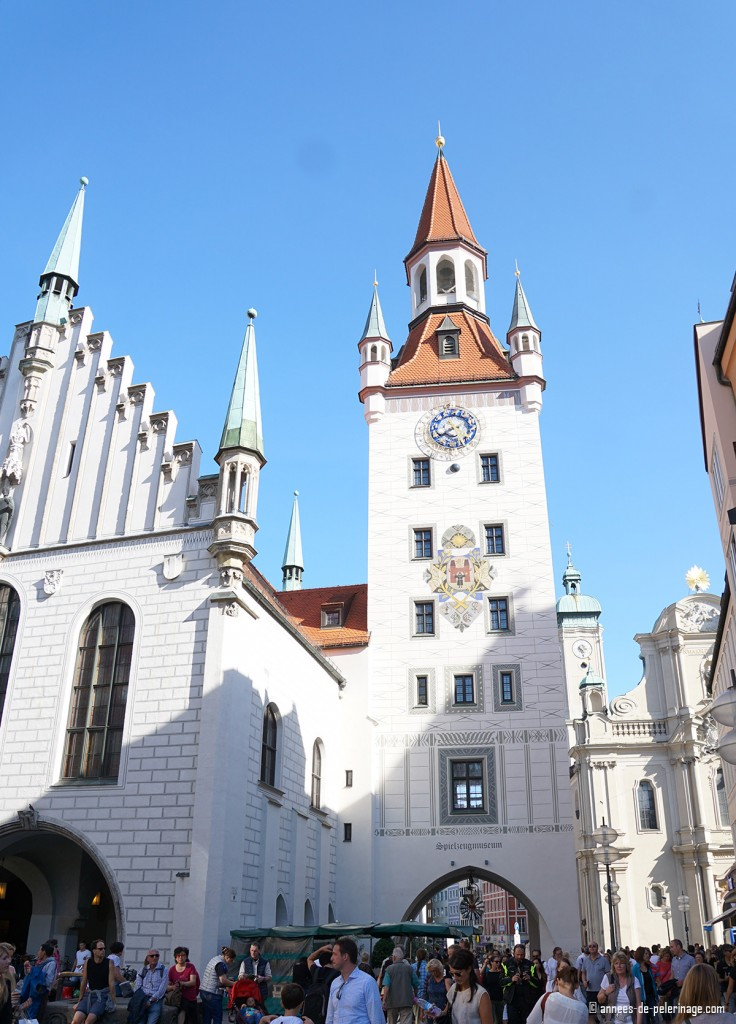 Munich's old city hall is now a toy museum