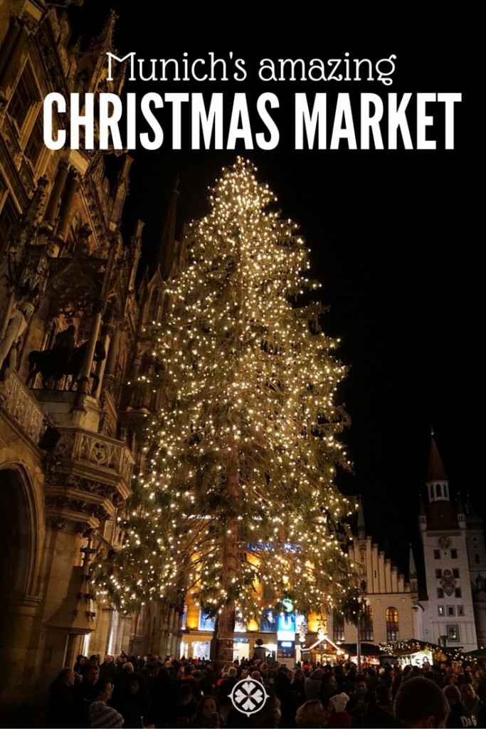 The amazing Christmas Market in Munich. Located in the very heart of Bavaria's capital, it counts among Germany's most visited holiday attractions