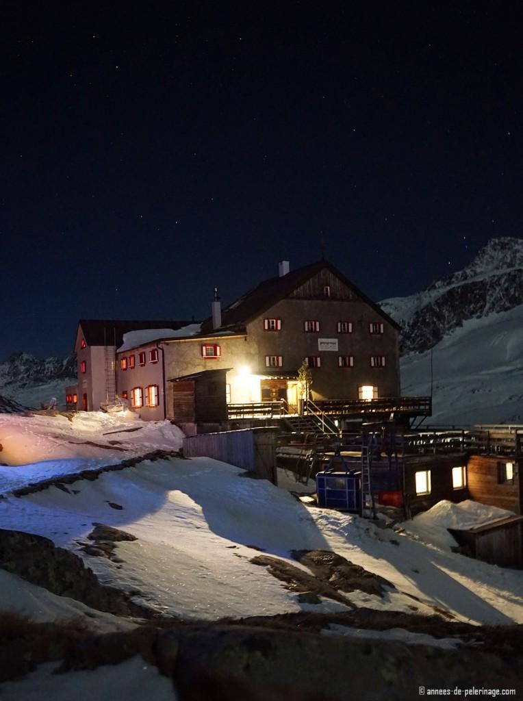 """The alpine lodge """"Zur schönen Aussicht"""" in the Dolomites in Italy"""