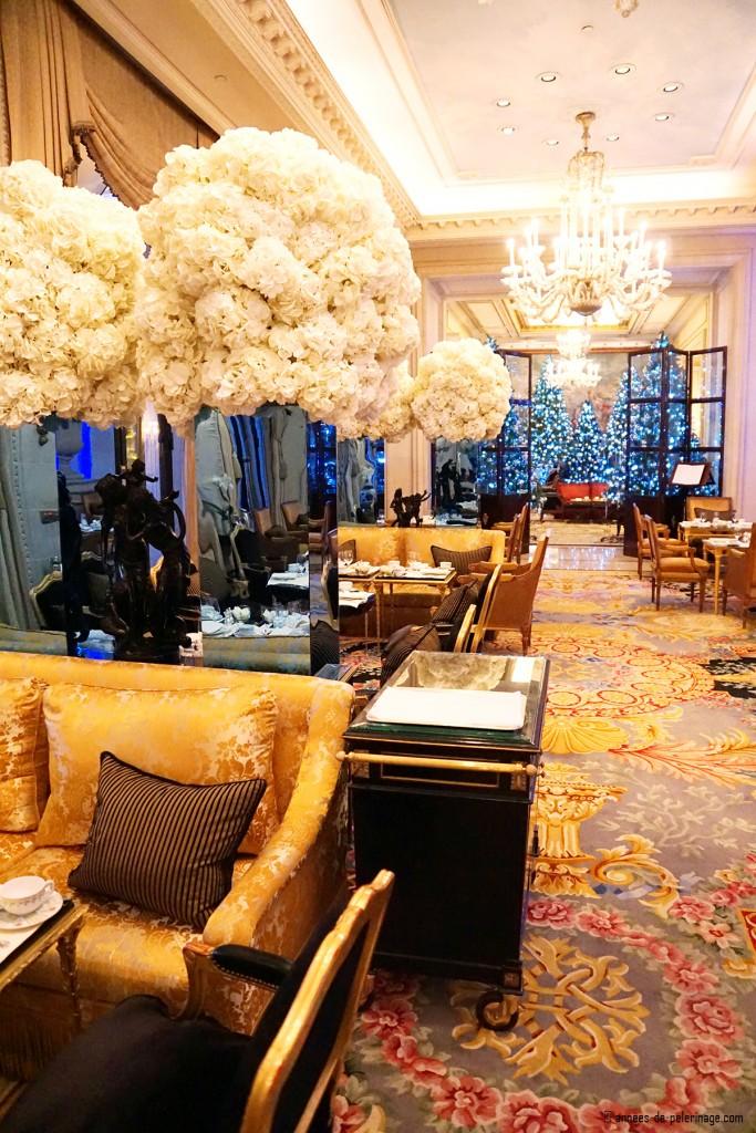 La galerie inside the Four Seasons Hotel George V in Paris