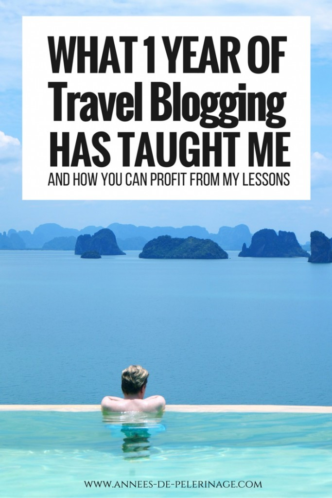40.000 Page Impressions later. What my first year of travel blogging thought me and how you can benefit from the leasons i learned.