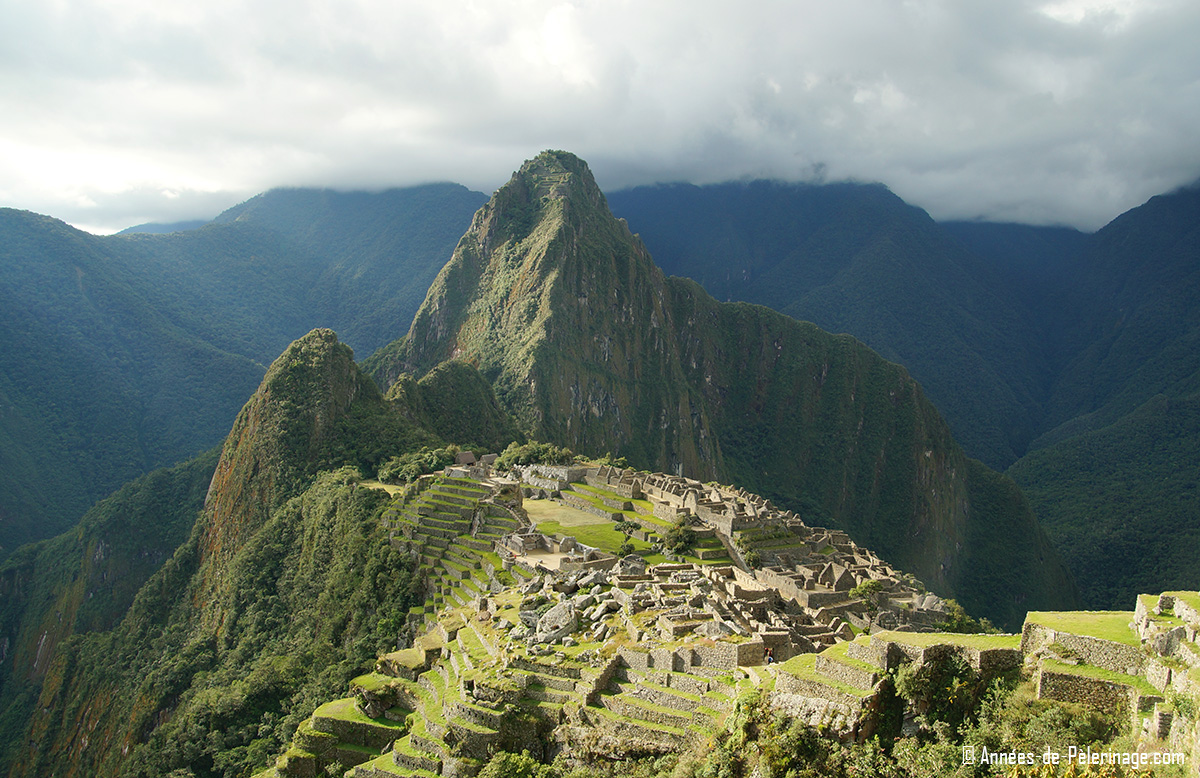 The alternative classic view of Machu Picchu