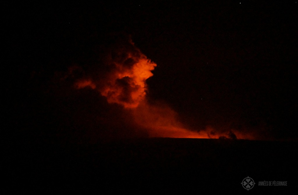 Eruptions of the Wolf volanco in Galápagos, Ecudaor