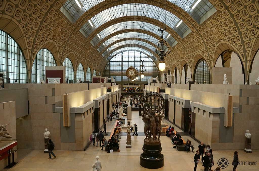 The main hall of the Musée d'Orsay in Paris