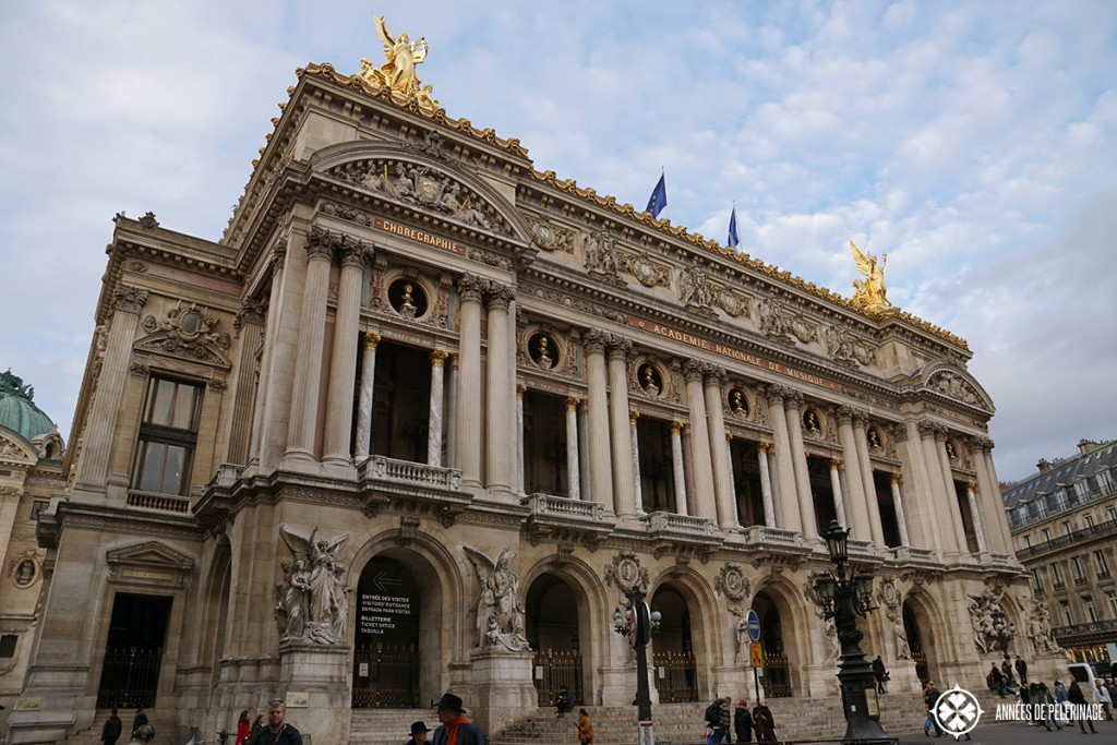 The Opéra Garnier in Paris - the biggest opera house in the world