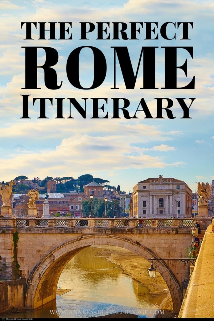The picture perfect Rome Itinerary. A detailed plan to spend 5 days in Italy's spectacular capital and not miss a single highlight. Click for more.