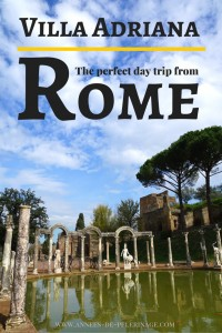 Villa Adriana in Rome is the perfect day trip. Located 30 km outside the Italian Capital the roman ruins are part of the UNESCO World Heritage list. Click to find out more.