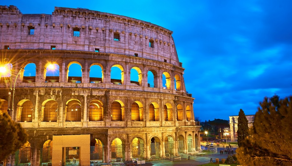 The Colloseum - no Rome itinerary can do without it