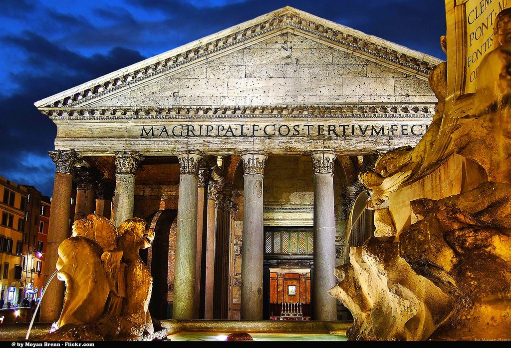 On the list of every Rome Itinerary: The Roman Pantheon