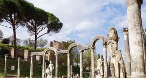 A visit to the impressive Villa Adriana in Tivoli, Rome