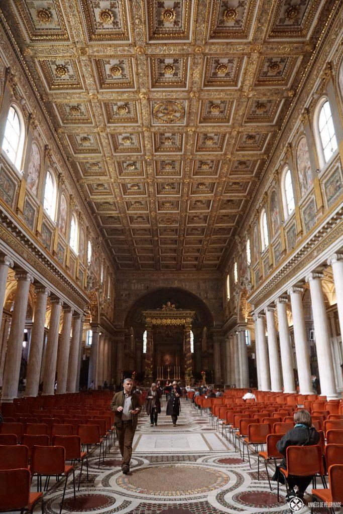 The papal Basilica di Santa Maria Maggiore in Rome