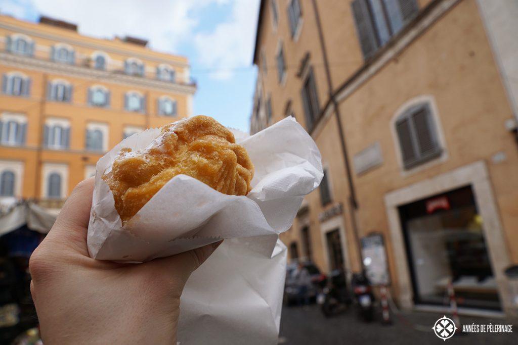 Delicious Roman street food