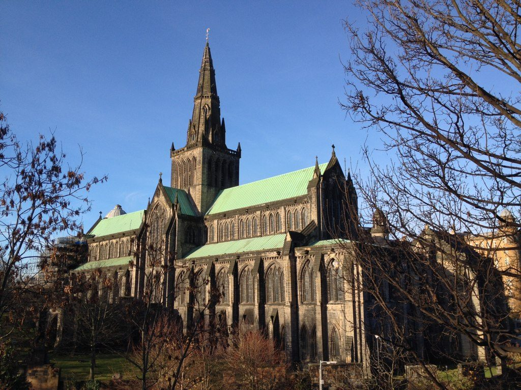 Glasgow Cathedral in the sunshine