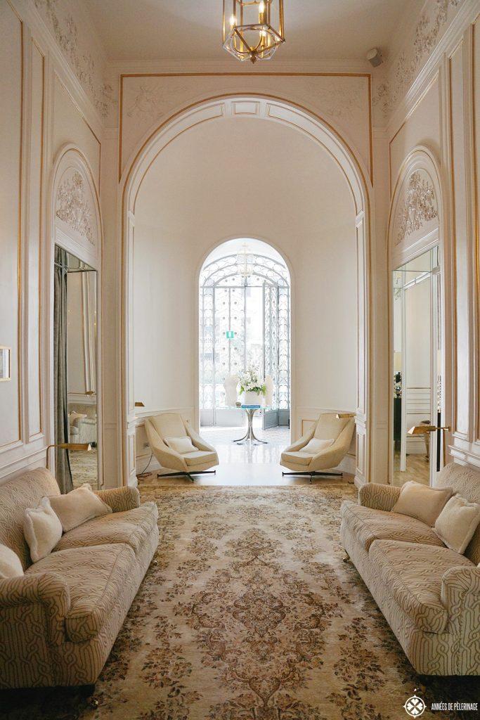 hall palazzo dama luxury hotel rome