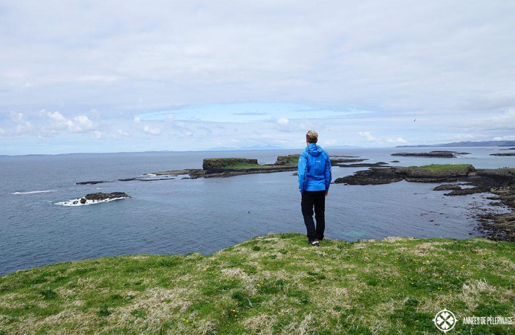 me lunga island treshnish scotland
