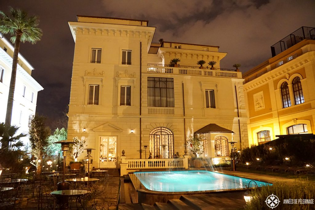 palazzo dama luxury hotel rome