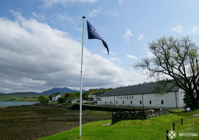 Talisker Brewery near Talisker on the Isle of Skye in Scotland