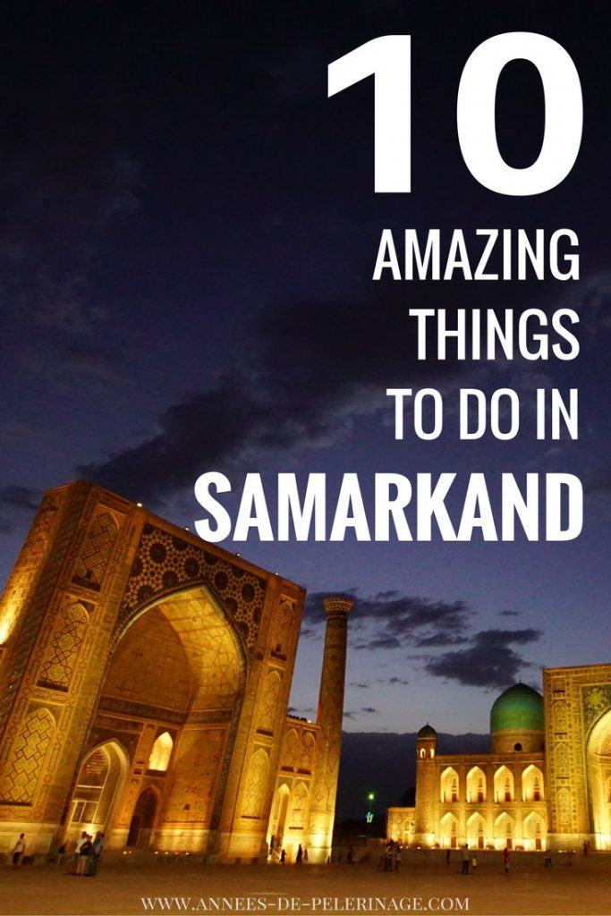 Samarkand in Uzbekistan might just be one of the most beautiful cities in the World. The old Silk Road city is now an UNESCO World Heritage site but only sees little travel. Here are 10 utterly amazing things to do in Samarkand. Click for more amazing pictures.