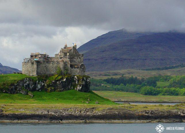 Duart Castle Scotland on the Isle of Mull in Scotland