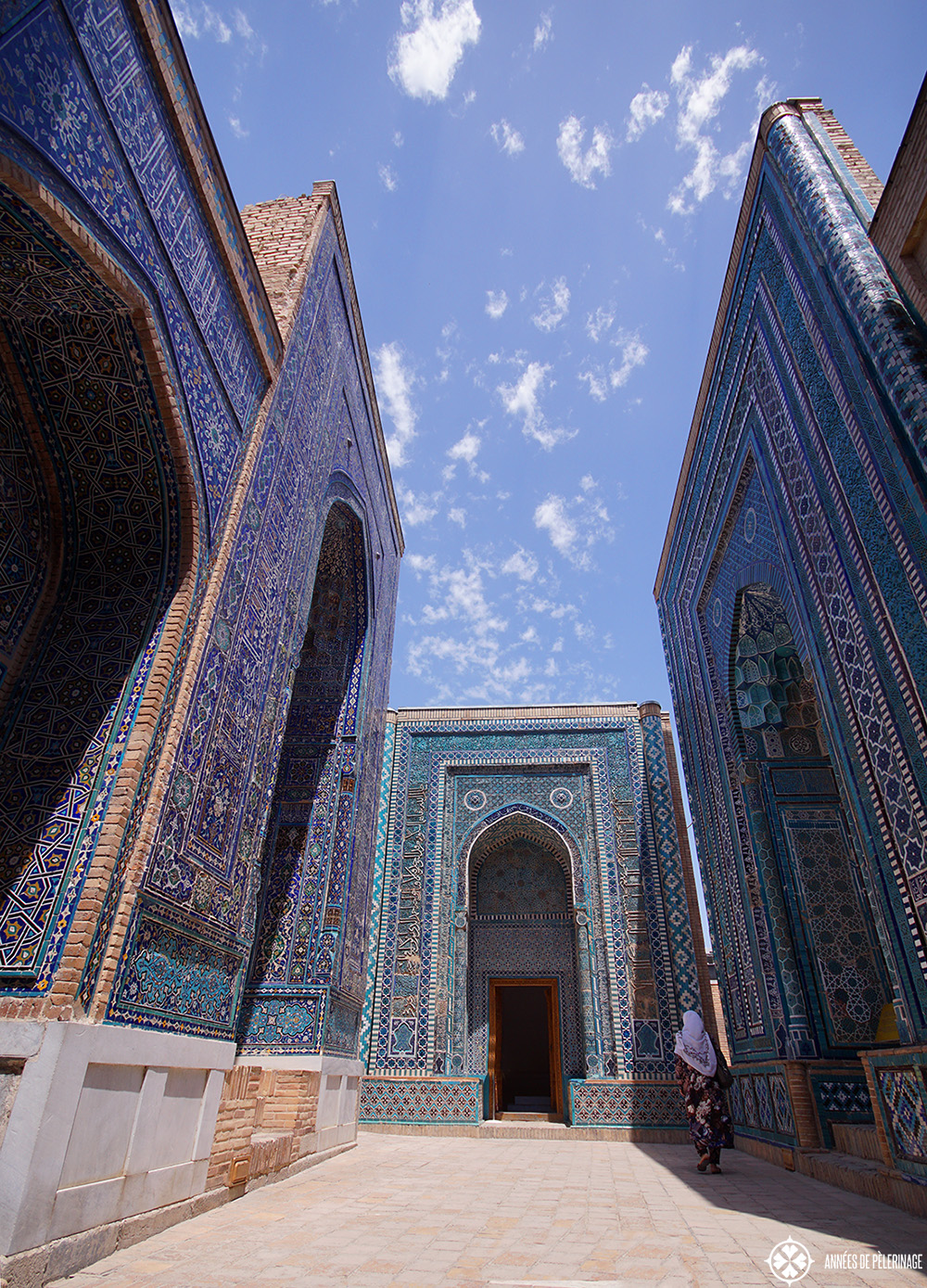 The Shah-i-Zinda necropolis in Samarkand, Uzbekistan - certainly one of the best things to see in the city
