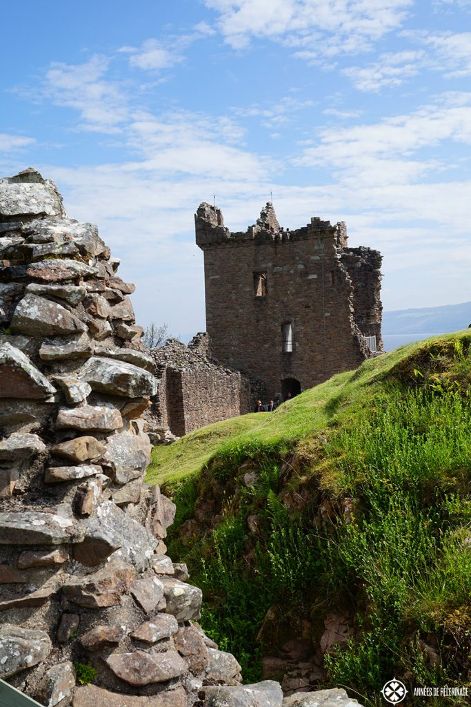 Urquhart Castle on the banks of Loch Ness is Scotlands most visited historic castle