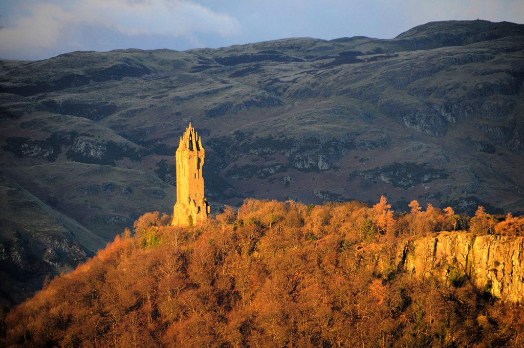 Wallace Monument near Sterling in Scotland; picture by Son of Groucho