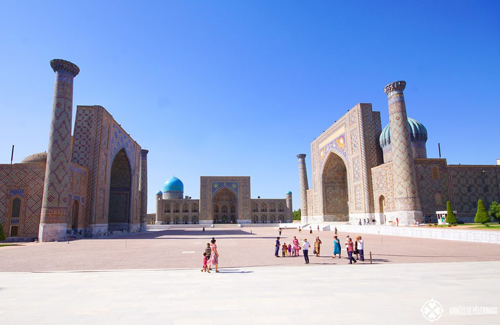 The world famous Registan Ensemble should be right at the top of all the things to do in Samarkand