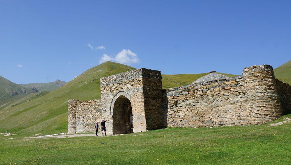 tash rabat caravanserai Silk road kyrgyzstan