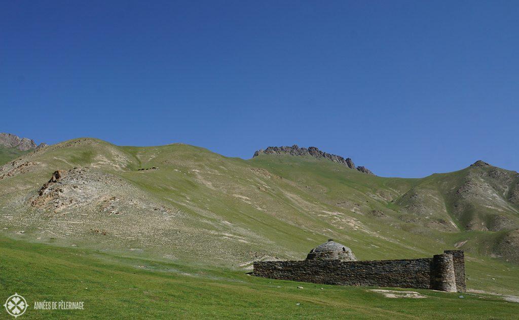 The Tash Rabat Silk Road caravanserai in Kyrgyzstan