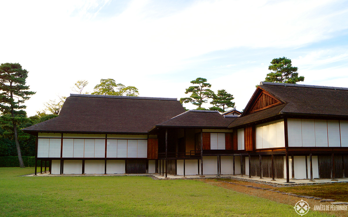 Katsura imperial villa in Kyoto and its very minimal architecture for 17th century