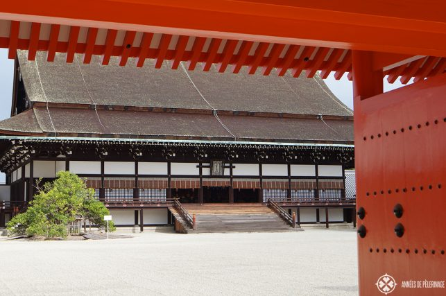Nijo-jo castle in Kyoto, one the residence of the shoguns and now an imperial property