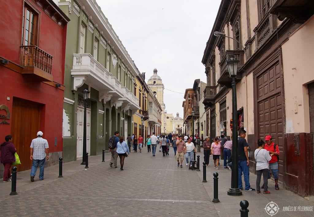 The centro historico de Lima