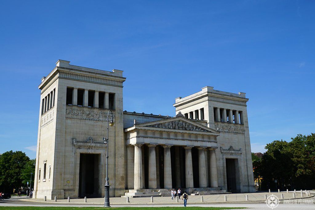 The Königsplatz in Germany. Most hop-on-bus tours come here as well