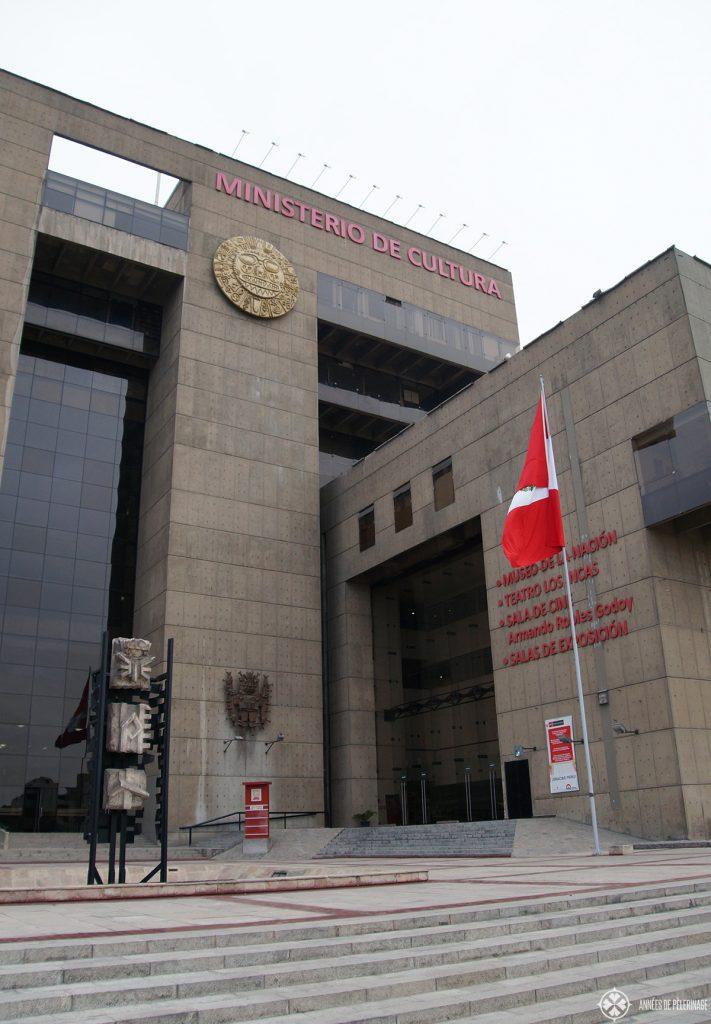 Museo de la nacion in Lima Peru