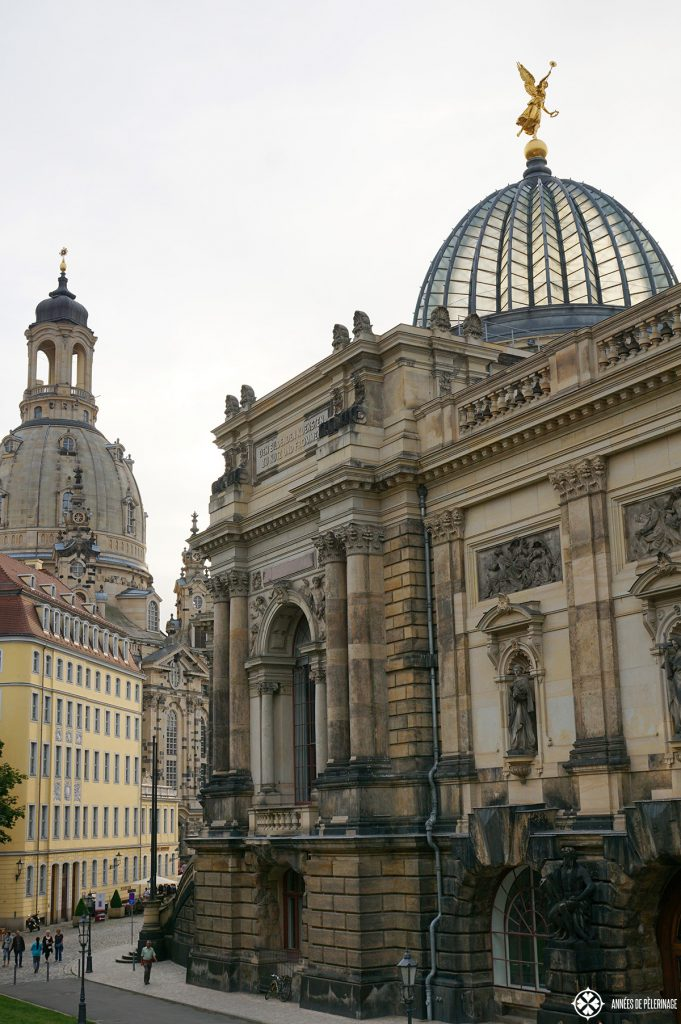 The oldtown of Dresden, Germany