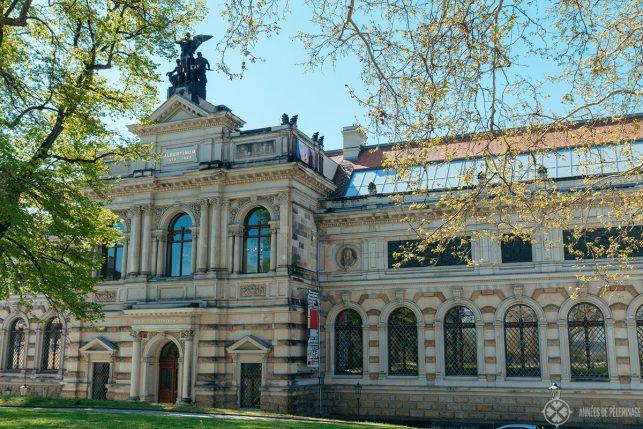 The main building of the Albertinum art gallery