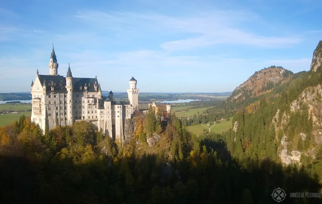 Castle Neuschwanstein - only a short day trip away from Munich