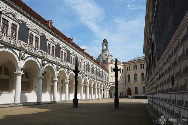 The Courtyard of the Dresden Castle
