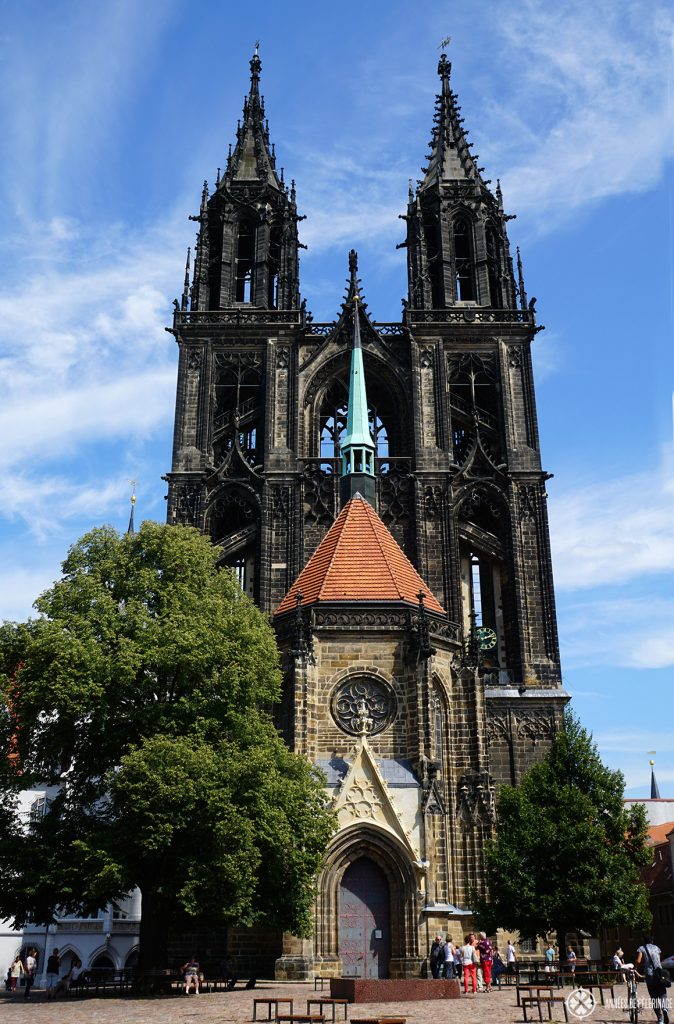 The gothic Cathedreal of Meissen, Germany. Only 30 minutes away from Dresden