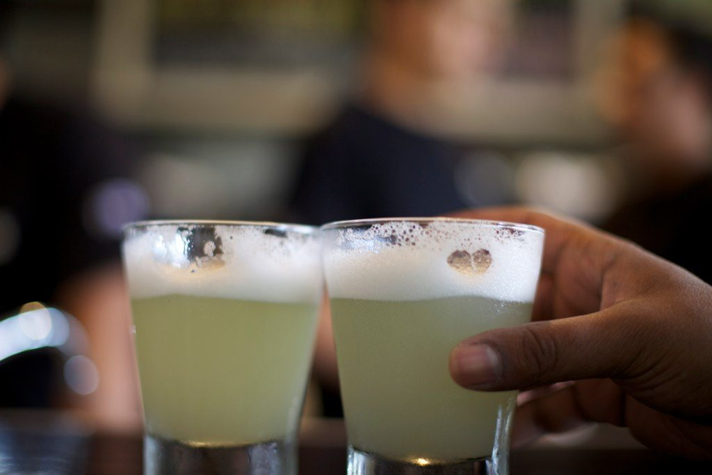 Pisco sour is one of Peru's national drink. so you have to drink it while you are in Lima