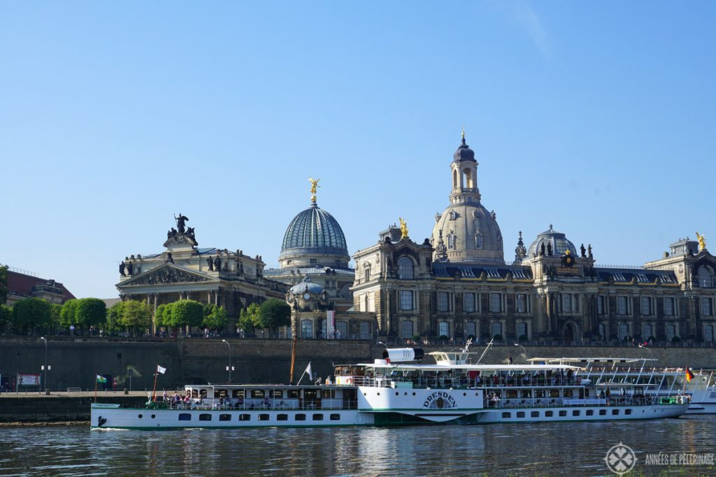 A steam boat tour should definitely be on your list of things to do in Dresden