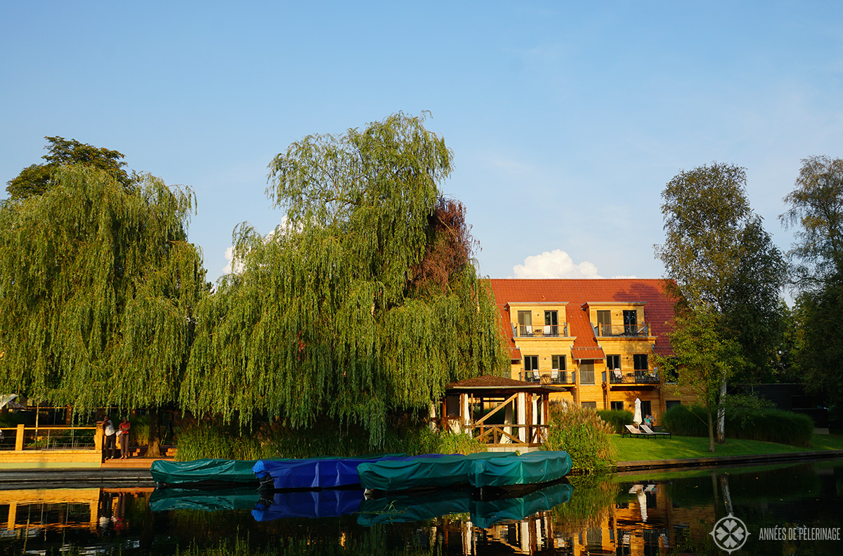 The Strandhotel Lübben, the best hotel in Spreewald, Germany