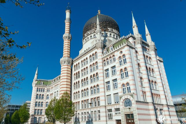 The historic Yendize cigar factory looks like a moorish palace and not so much like a factory