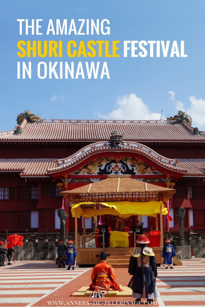 A report of the amazing Shuri Castle festival in Naha, Okinawa. This is one of the most amazing events in Japan and a must-see if you are in Okinawa. click for more.