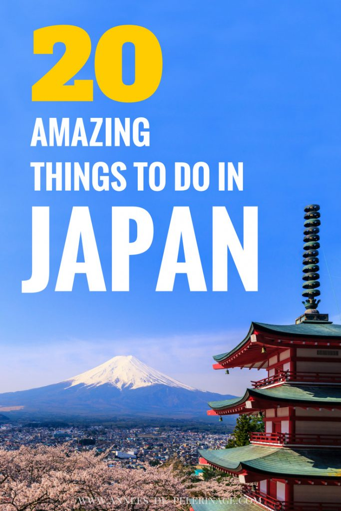 The 20 best things to do in Japan. A comprehensive list of all the tourist attractions in Japan. What you must see and when to visit Japan. Click for more information on what to see in Japan.