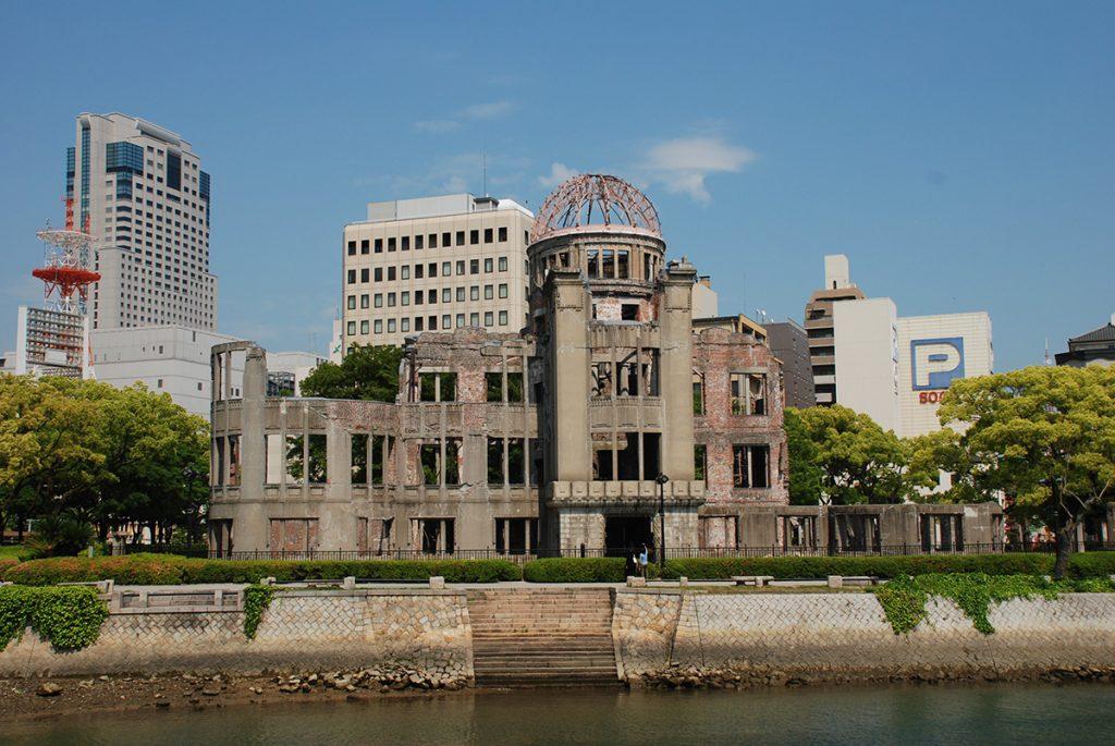 The hiroshima peace memorial in japan | pic: xiquinhosilva